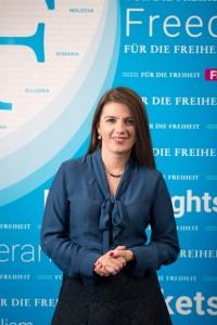 Petya Dyulgerova, Project Coordinator for Bulgaria and Macedonia