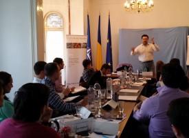 Study-trip of Moldavian Parliamentary Assistants to Bucharest
