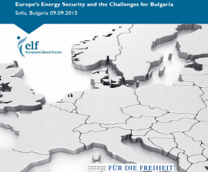 Europe`s Energy Security and the challenges for Bulgaria