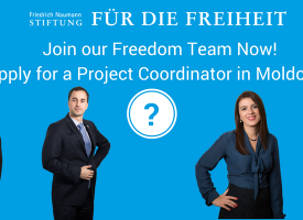 Join our Freedom Team in Moldova! Apply for a Project Coordinator!