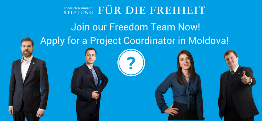 Join our Freedom Team in Moldova!