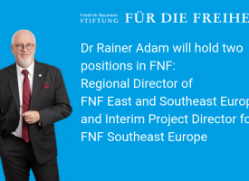 Dr Rainer Adam Will Hold 2 Positions in FNF